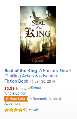 Thank you for making Seal of the King a #1 Best Seller